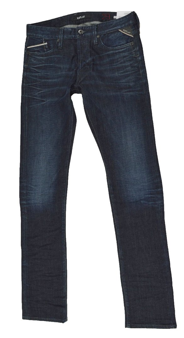 Replay Waitom M983 Herren Jeans Hose W29L34 Regular Fit Jeans Hosen 6-1336
